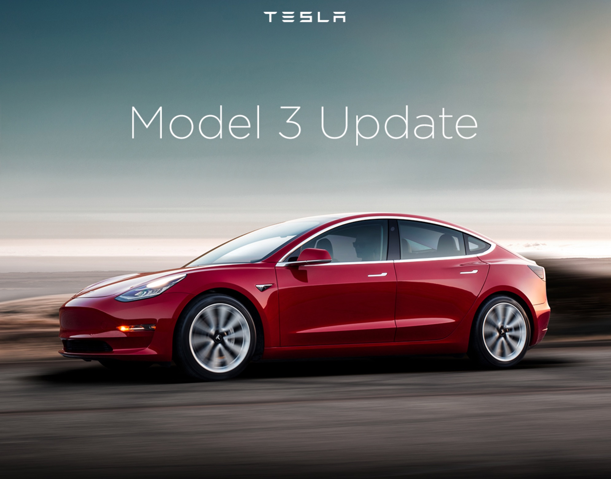 tesla updates model 3 reservation holders with new delivery dates. Black Bedroom Furniture Sets. Home Design Ideas