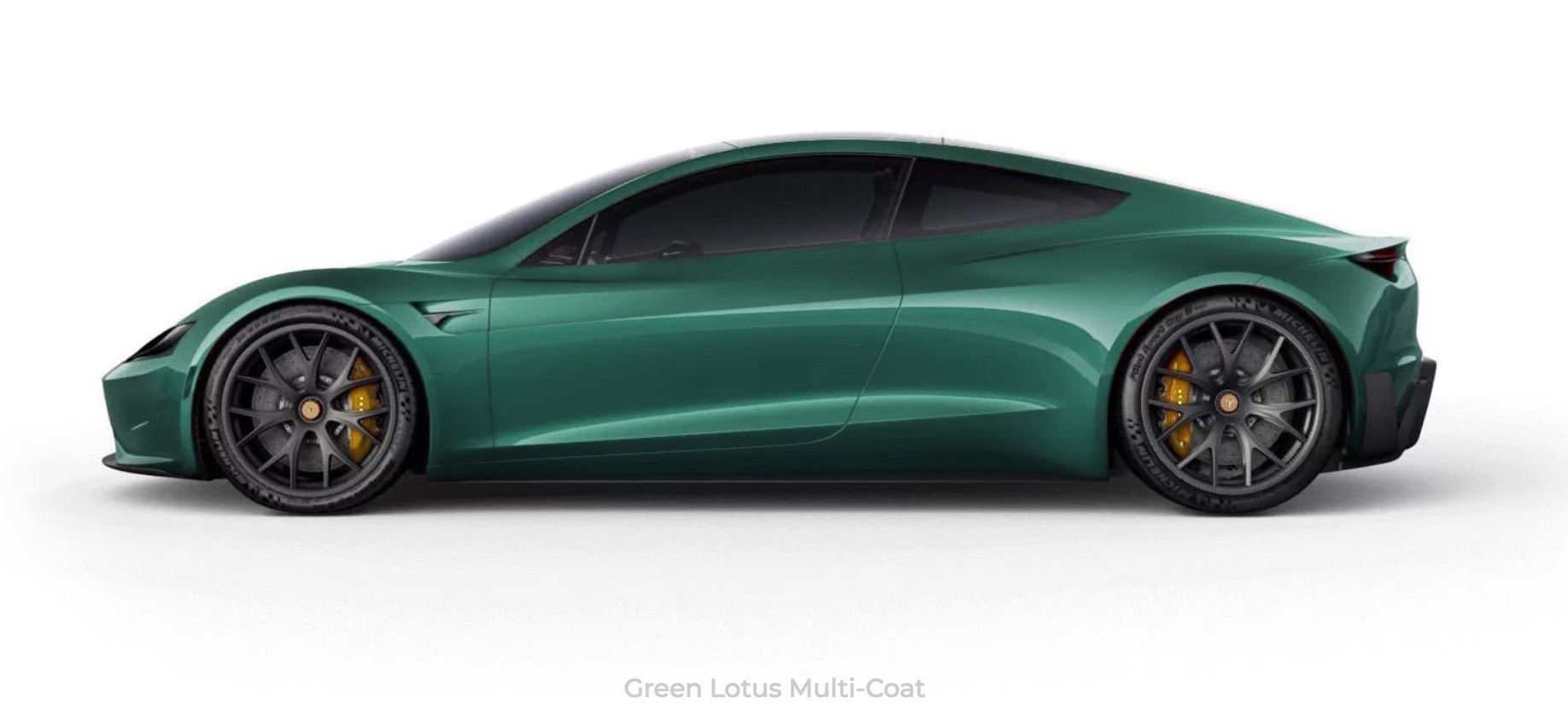 tesla-roadster-green-color