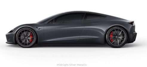 Tesla Roadster Paint Colors Imagined In New Interactive Configurator