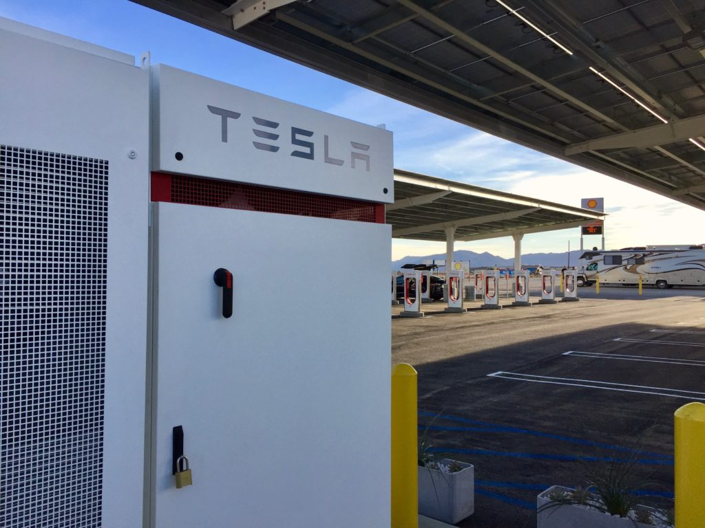 Tesla Superchargers will have Powerpacks to help with outages, says Elon Musk