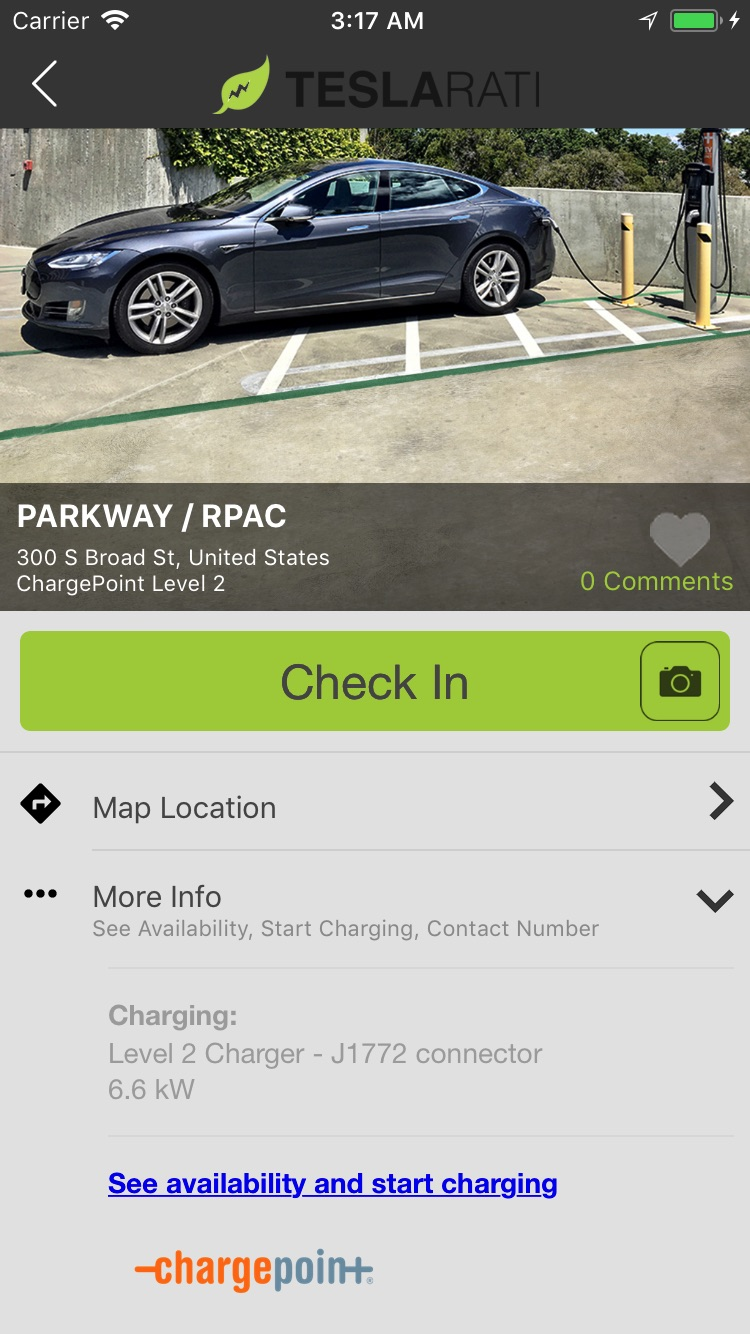 teslarati-app-chargepoint-charger-availability