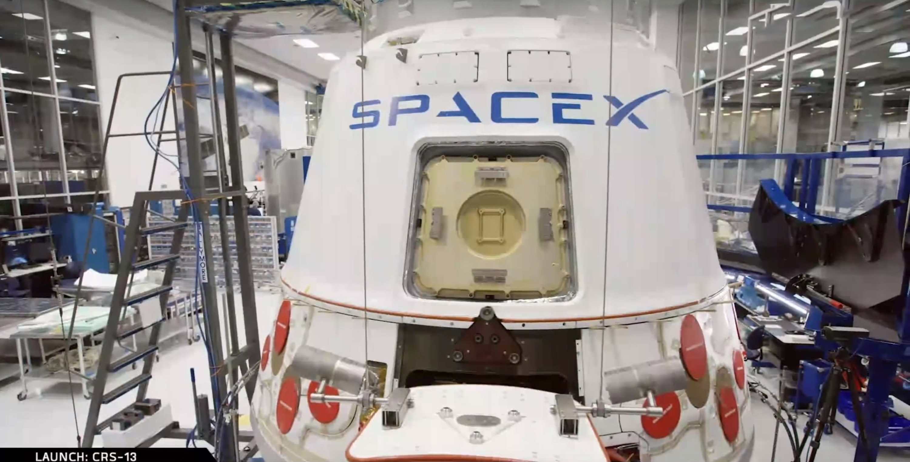 Dragon processing 2 (SpaceX)