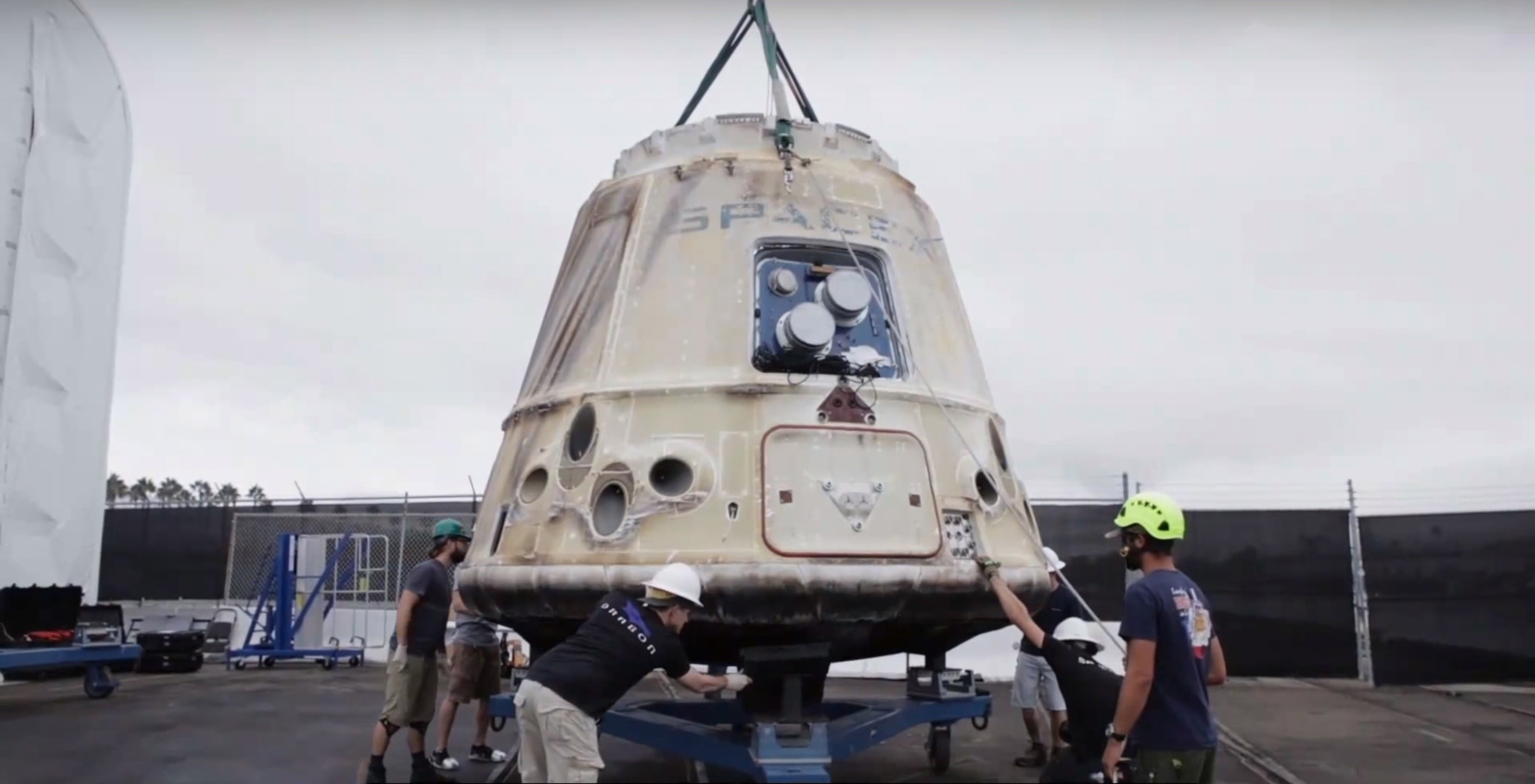 Dragon recovery (SpaceX)