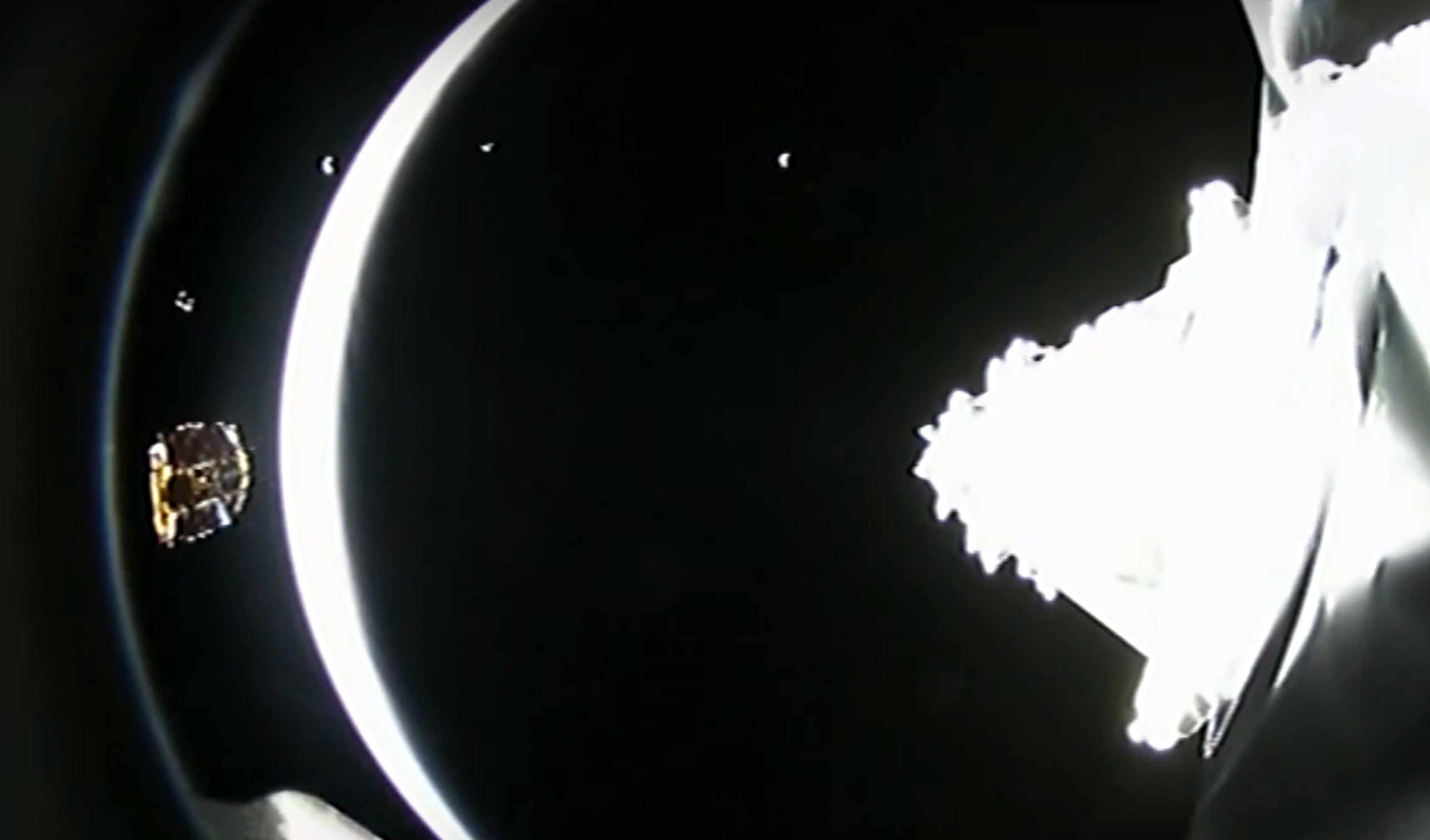 Iridium4 deployment arc 2 (SpaceX)