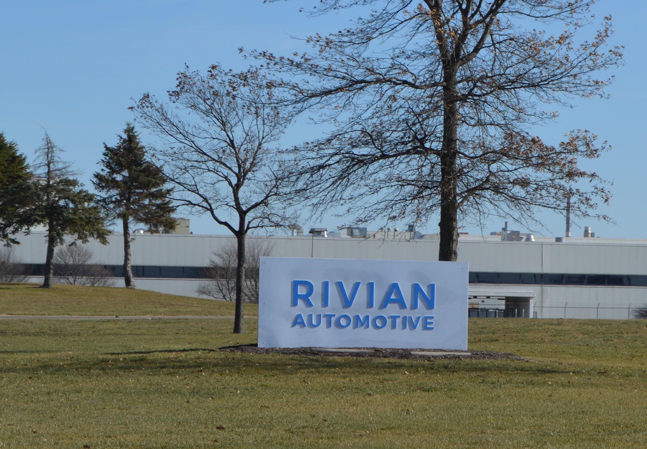 Rivian Automotive Normal Il Factory Sign