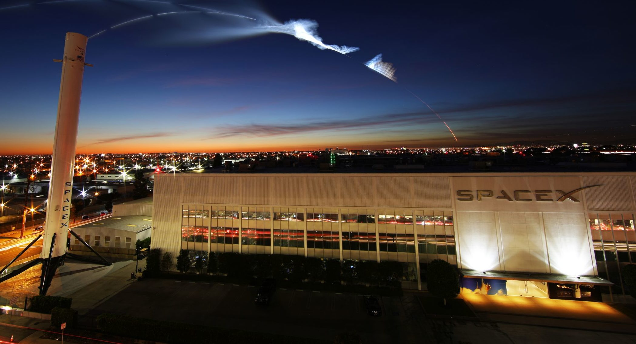 SpaceX Hawthorne Iridium4 (SpaceX)