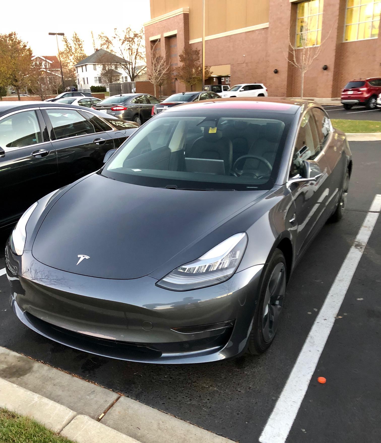 Tesla Model 3 Front Michigan