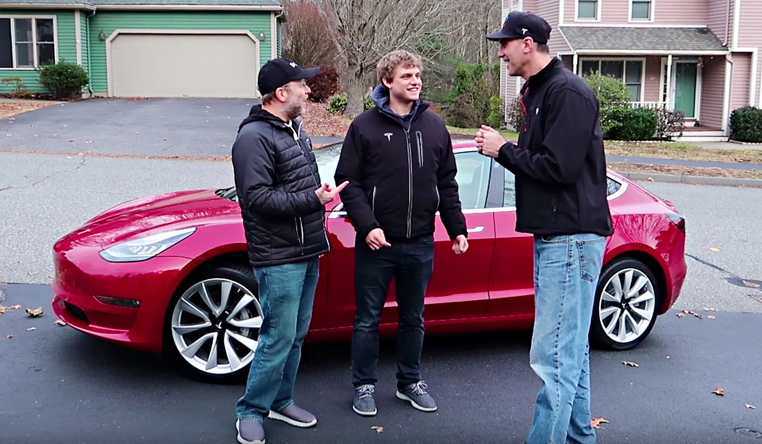 tesla model 3 s headroom put to the test with 6 7 tall driver