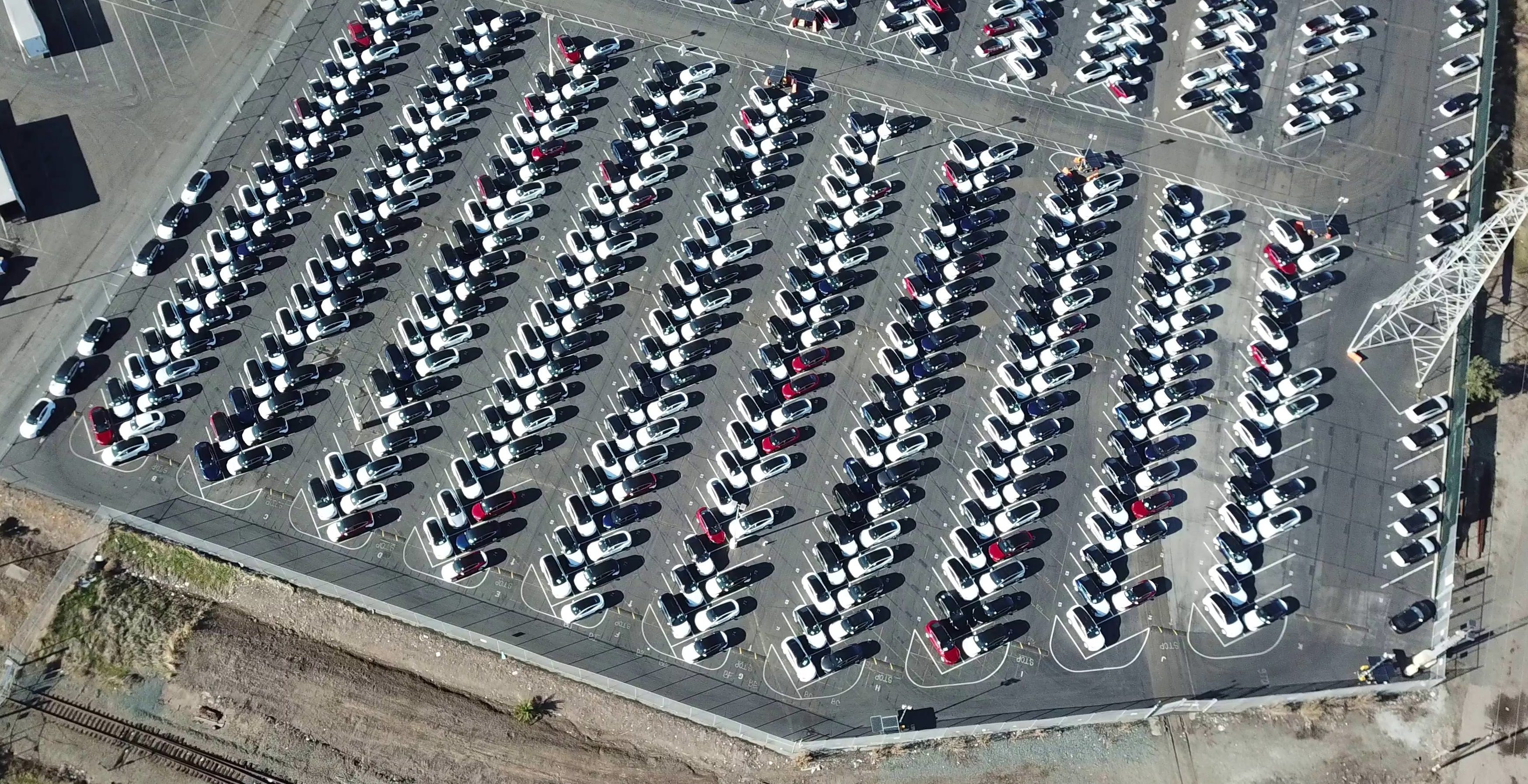 tesla-model-3-inventory-fremont-factory-drone-aerial-7