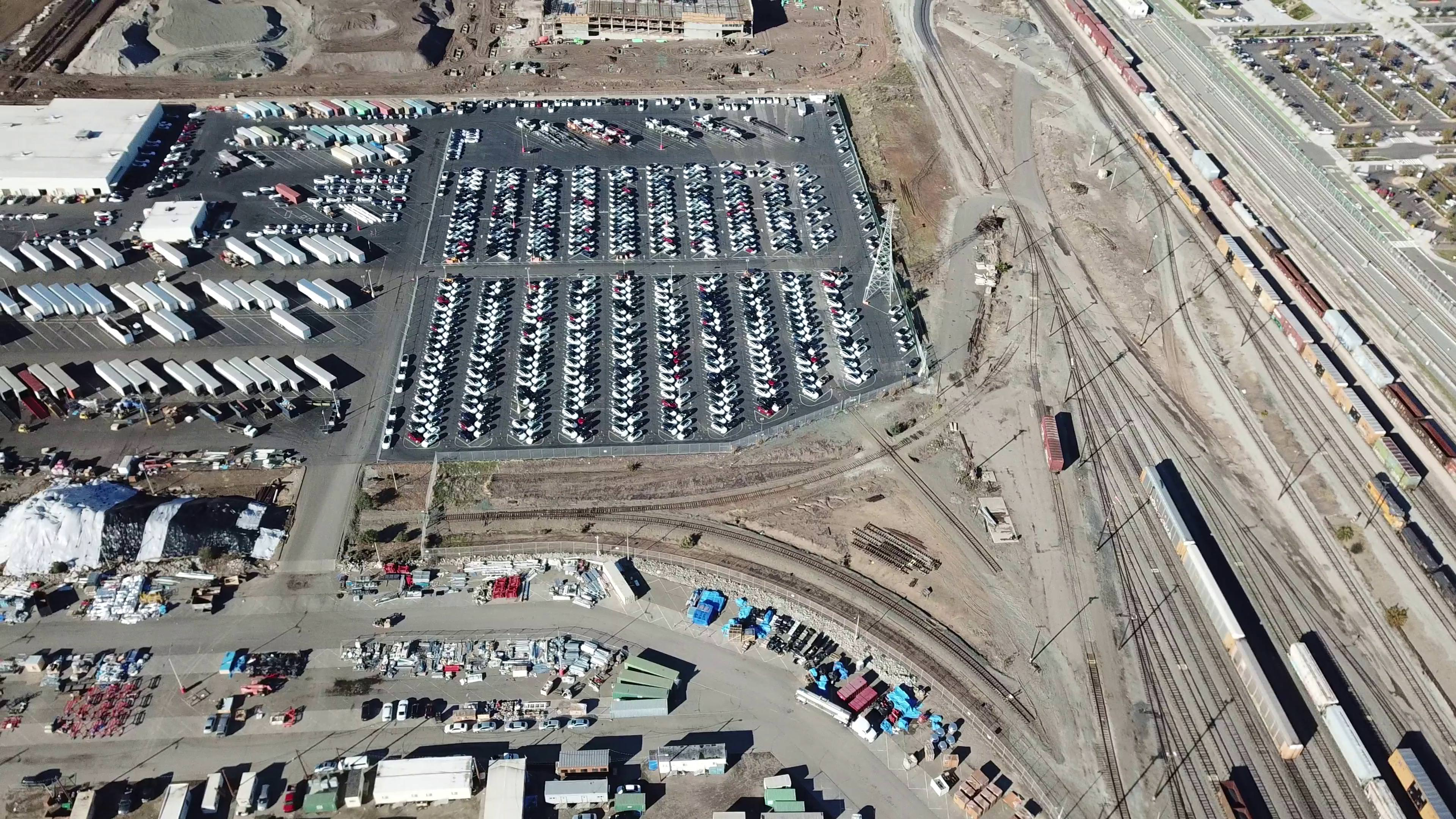 tesla-model-3-inventory-fremont-factory-drone-aerial-8