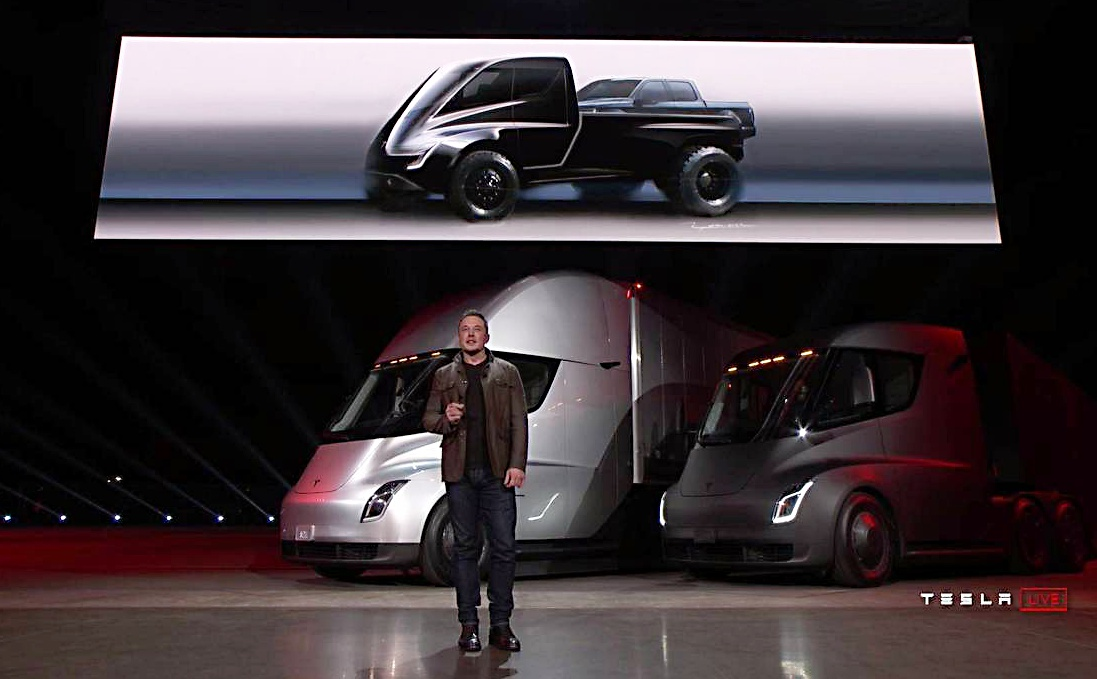 Elon Musk Says Tesla Pickup Truck Will Come After Model Y