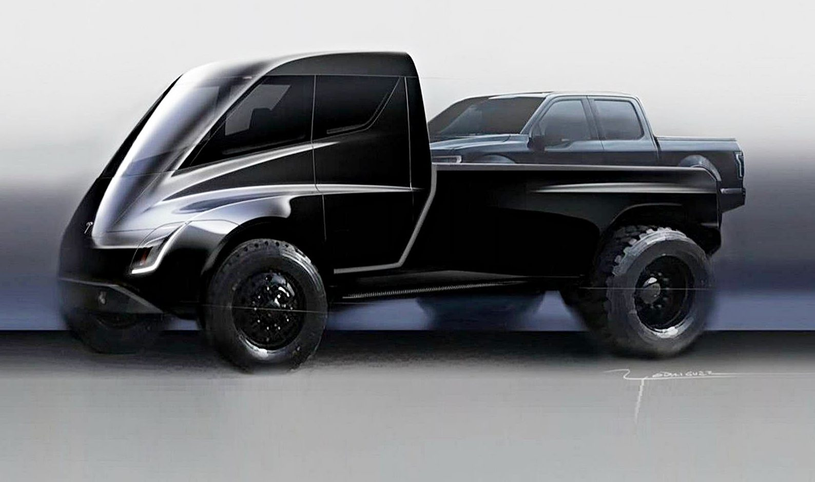Vehicles With 5000 Lb Towing Capacity >> Tesla Pickup Truck S 300k Lb Towing Capacity Is Crazy But Feasible