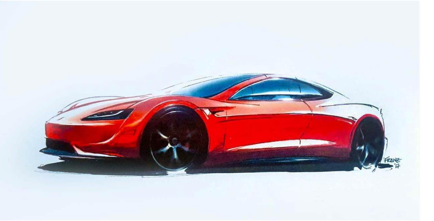 tesla-roadster-sketch