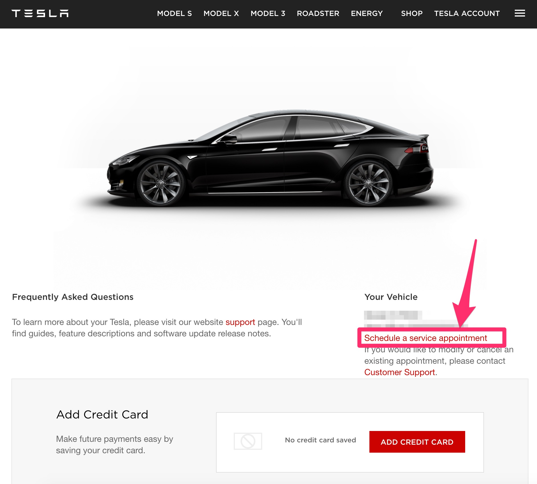 tesla owners can now self schedule service appointments online