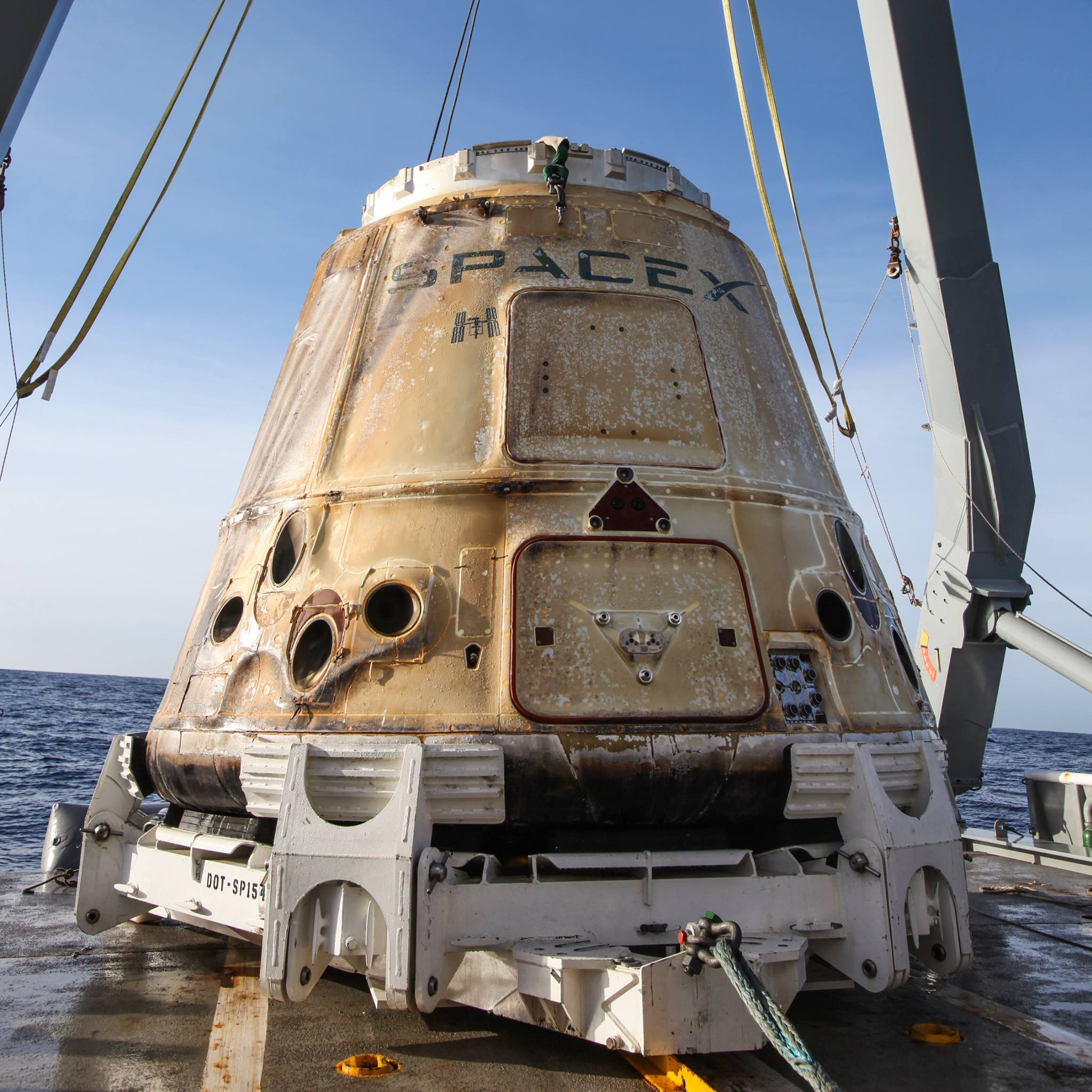 CRS13 – C108 recovery #2 (SpaceX)
