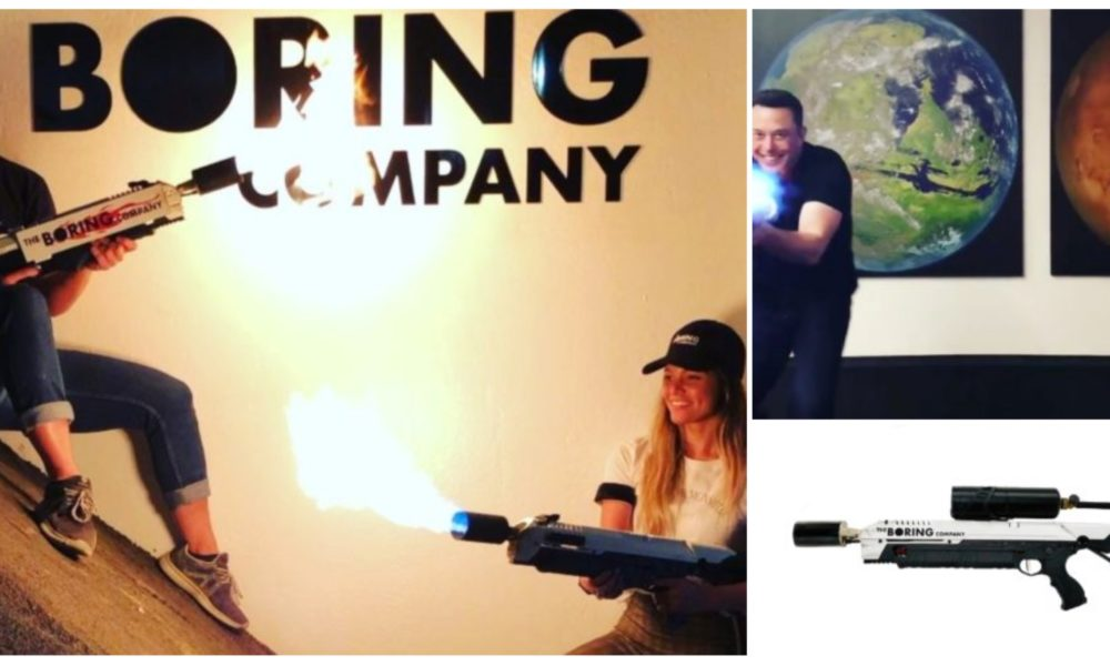 elon musk sold 2m in the boring company flamethrowers in. Black Bedroom Furniture Sets. Home Design Ideas