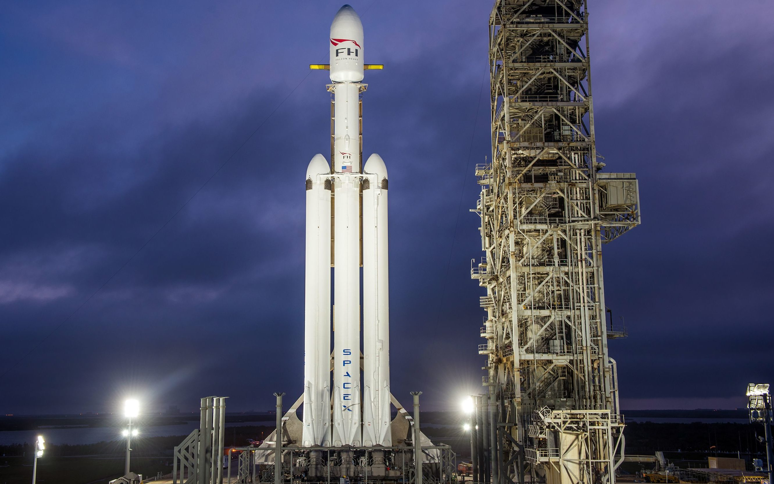 Falcon Heavy 39A (SpaceX) (2)