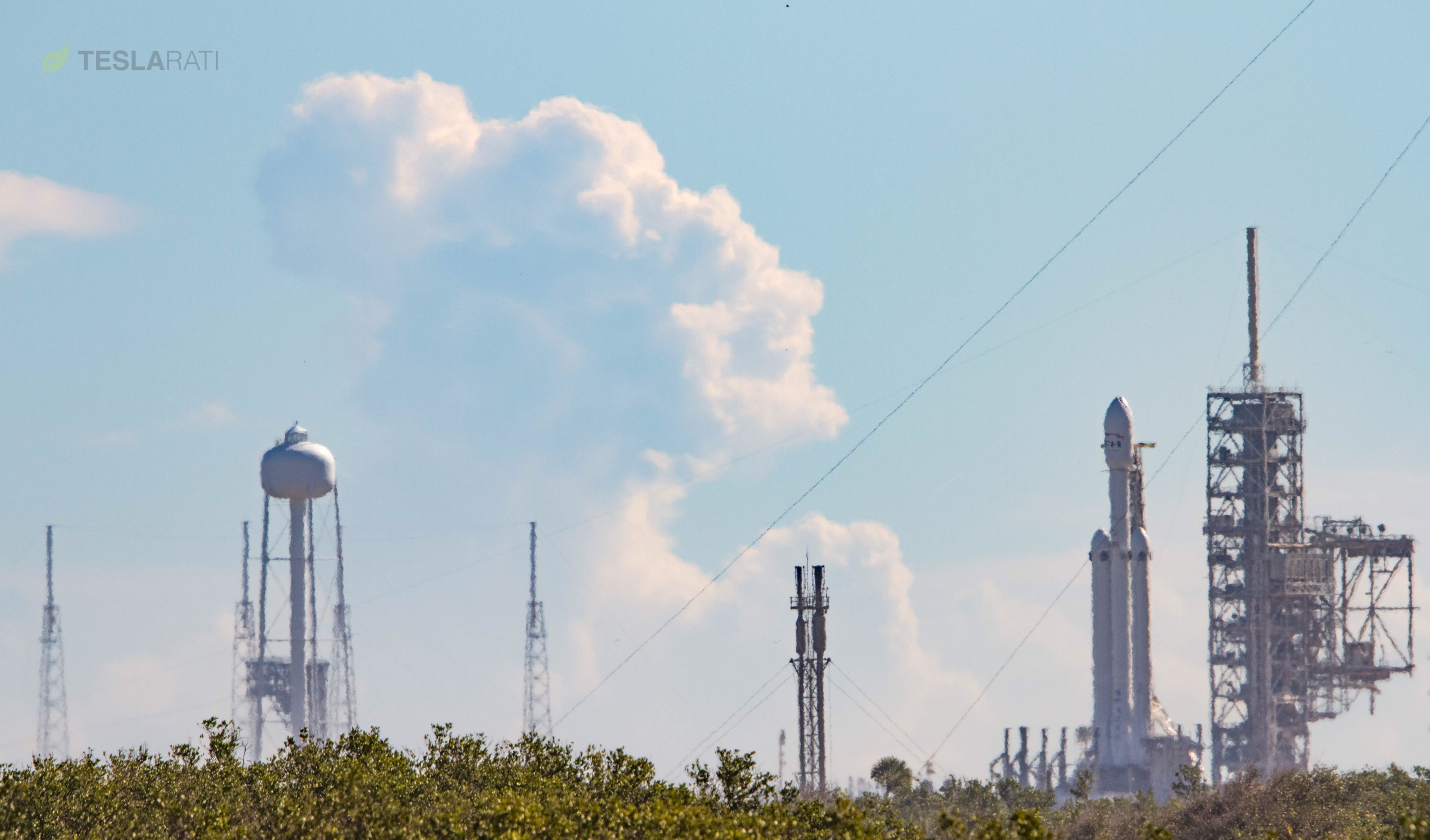 Spacex Falcon Heavy Completes Successful Rehearsal  Static