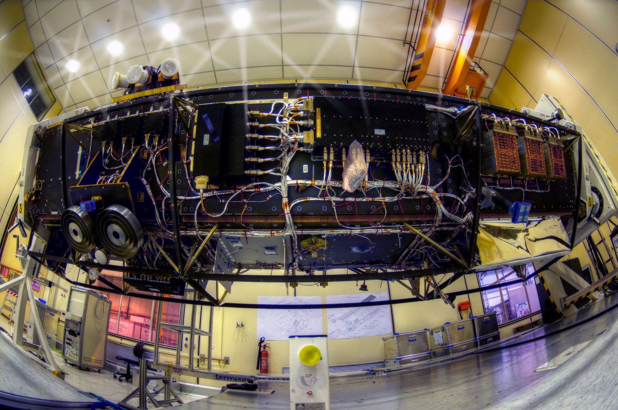 PAZ imaging satellite (Airbus)