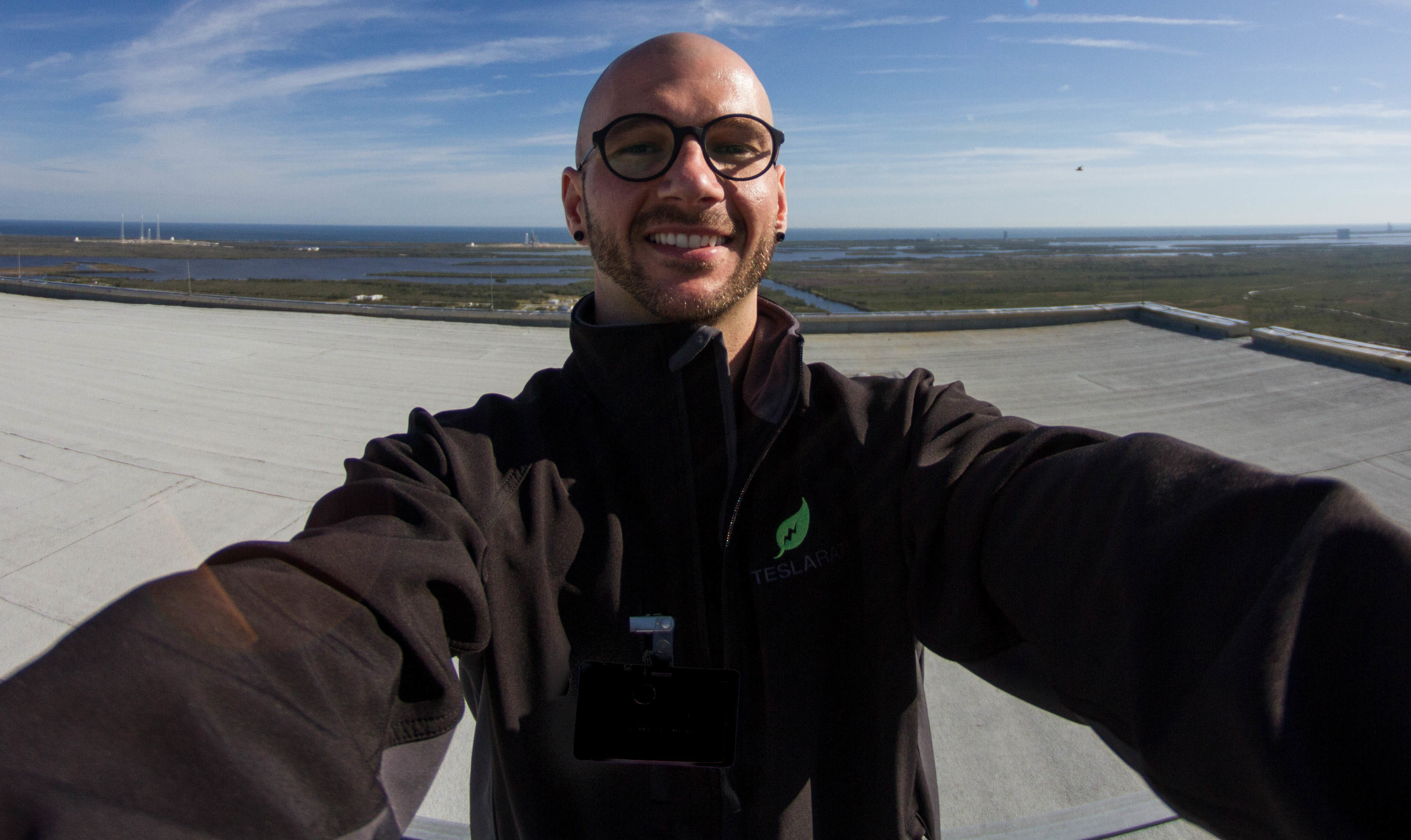 """5f48fdef195 Rocket launch photographer covering SpaceX  """"I have the coolest job in the  world"""""""