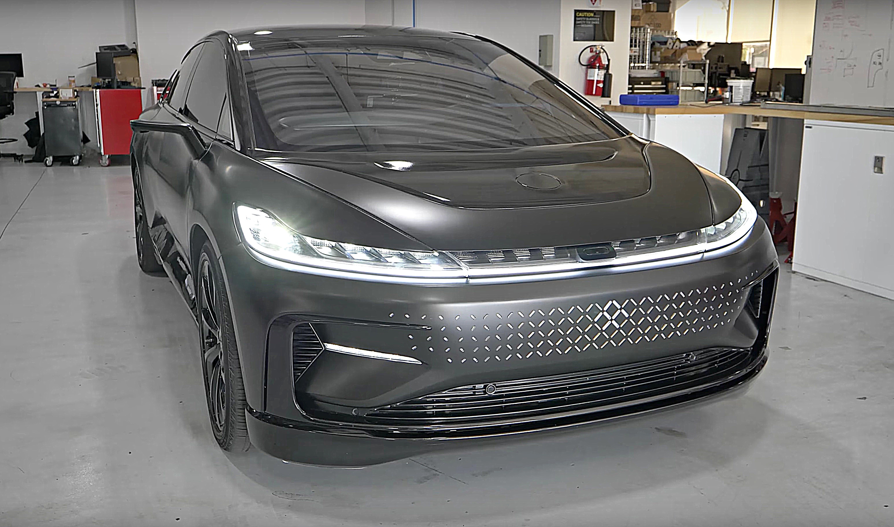Rare Look Inside Faraday Future S Hq Revealed In Sponsored Video Tesla Got Nothing On It