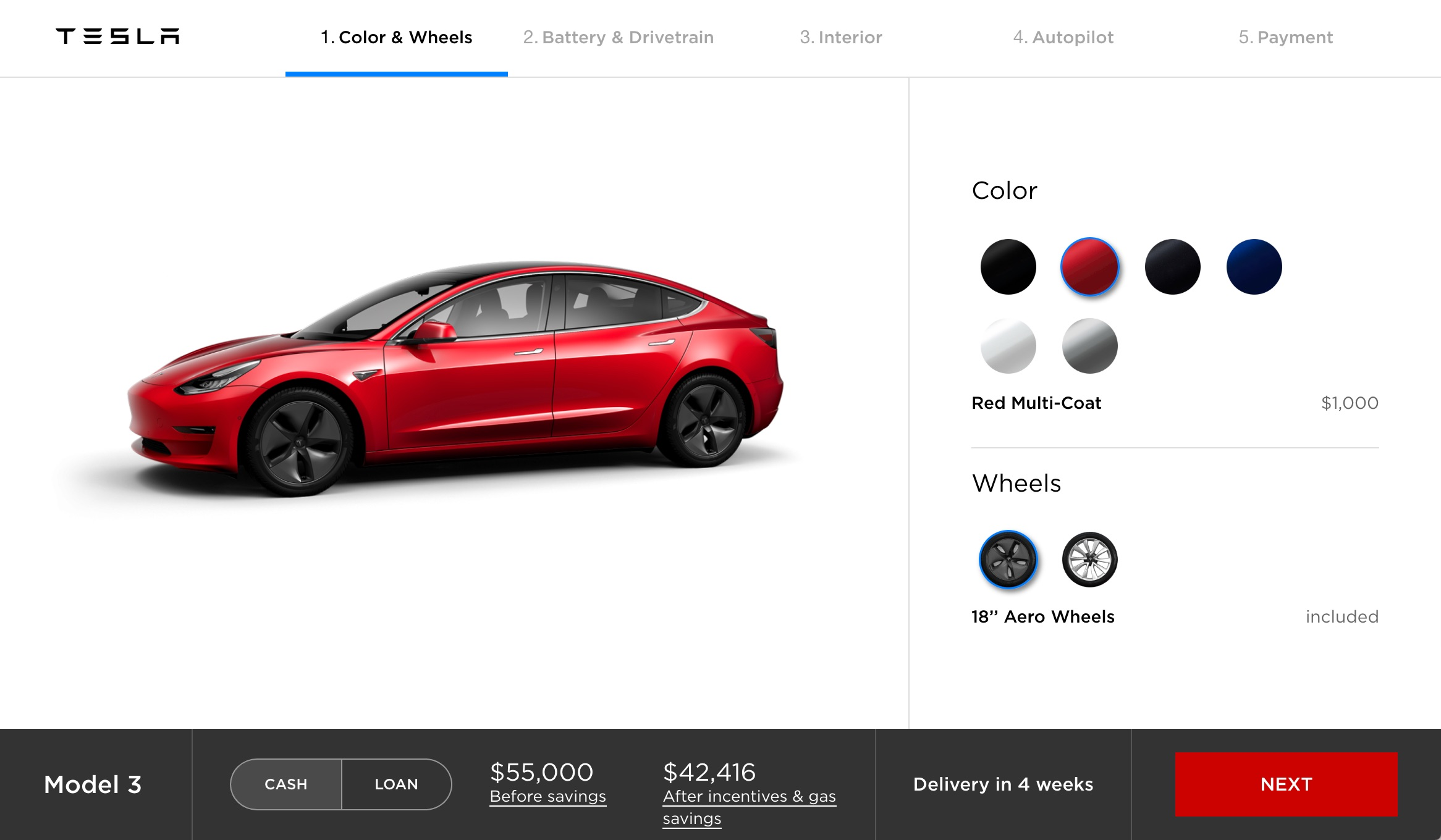 According To Cur Messaging On The Model 3 Online Configurator 220 Mile Capable 35 000 Base Version Will Be Available Sometime In Early 2018