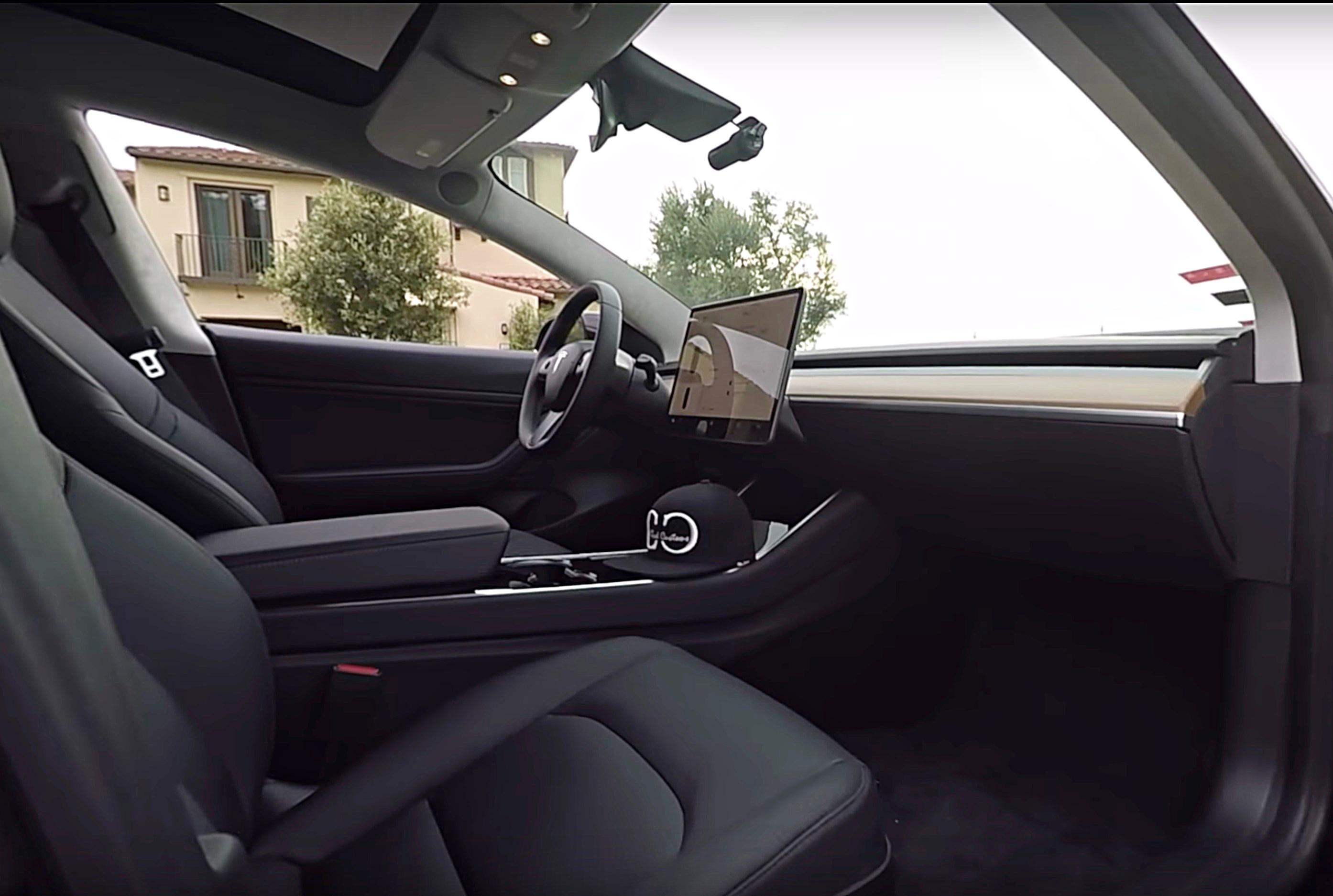 Installing A Tesla Model 3 Dashcam Solution From Blackvue