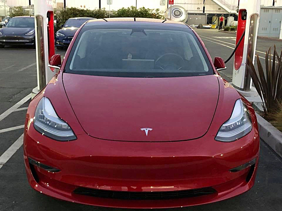 Tesla model 3 performance possibly spotted ahead of dual for Tesla model 3 dual motor