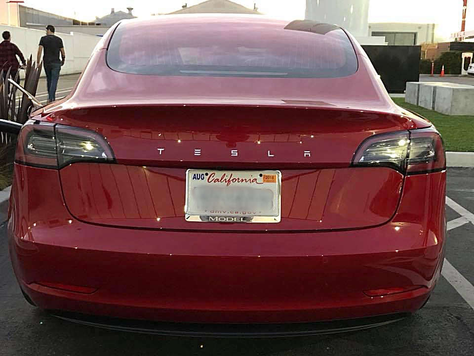 Unique Tesla Model 3 Rumored To Be A Performance