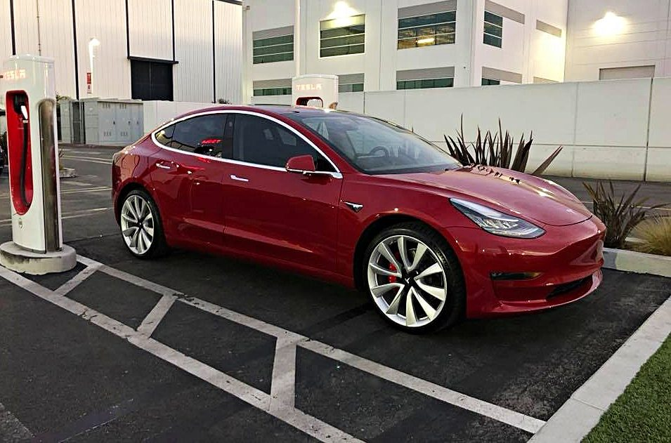 Tesla Model 3 Awd >> Tesla Model 3 With White Seats And Dual Motor Awd Could Come