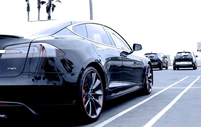 Tesla nice rims