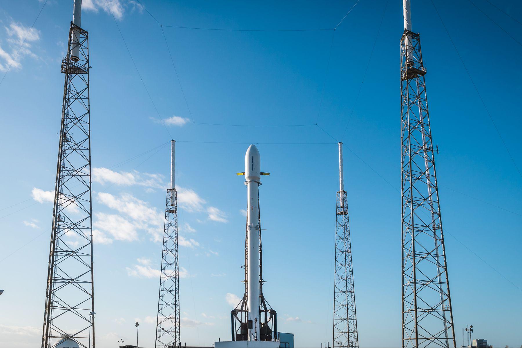 zuma vertical LC40 (SpaceX)
