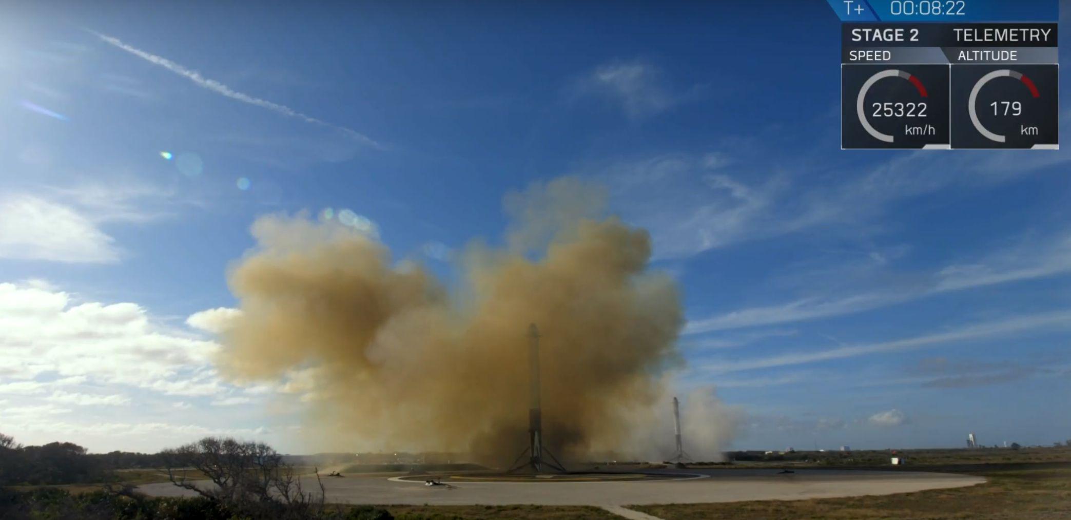 Booster landings 2