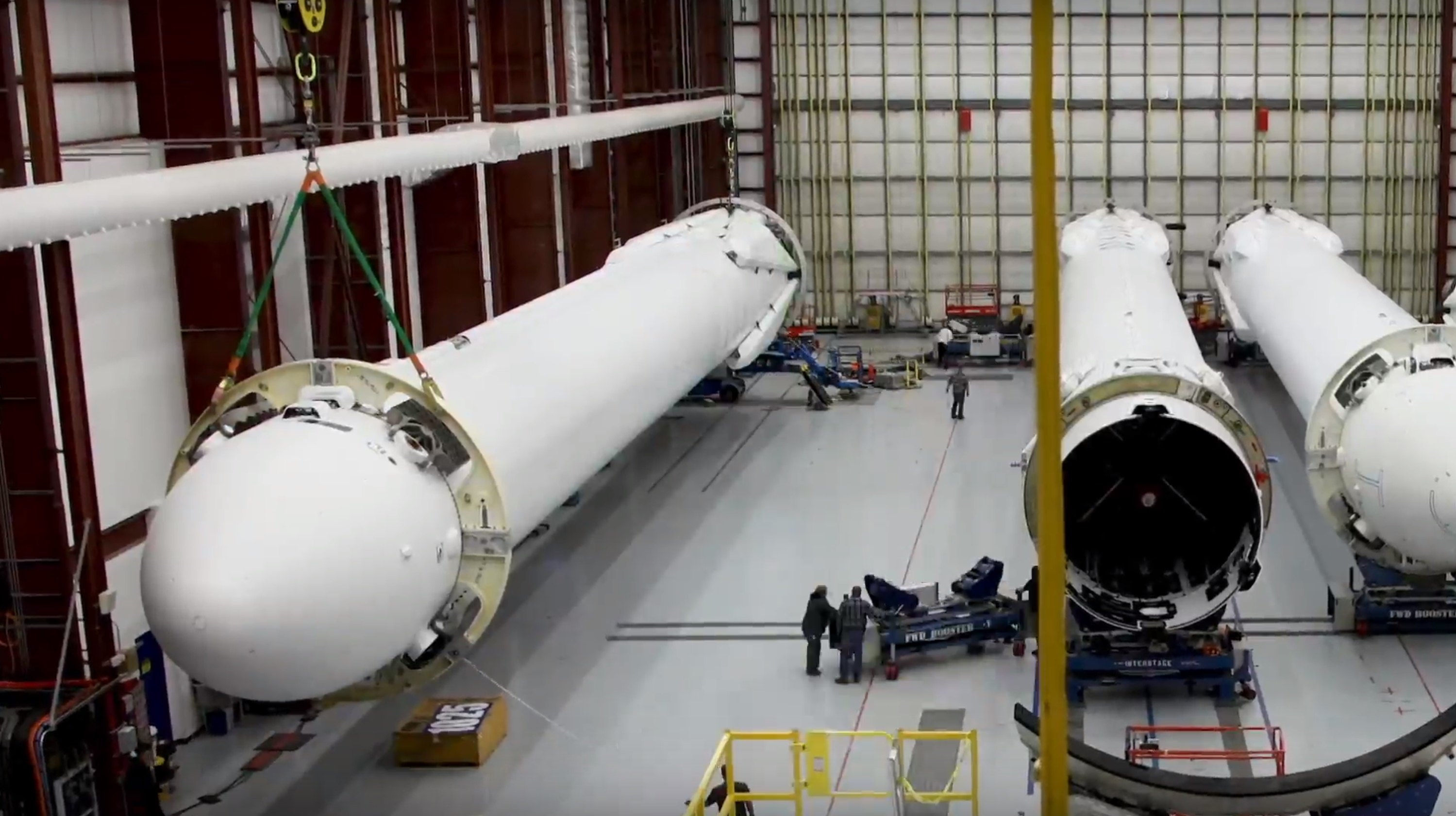 FH integration 1 (SpaceX)