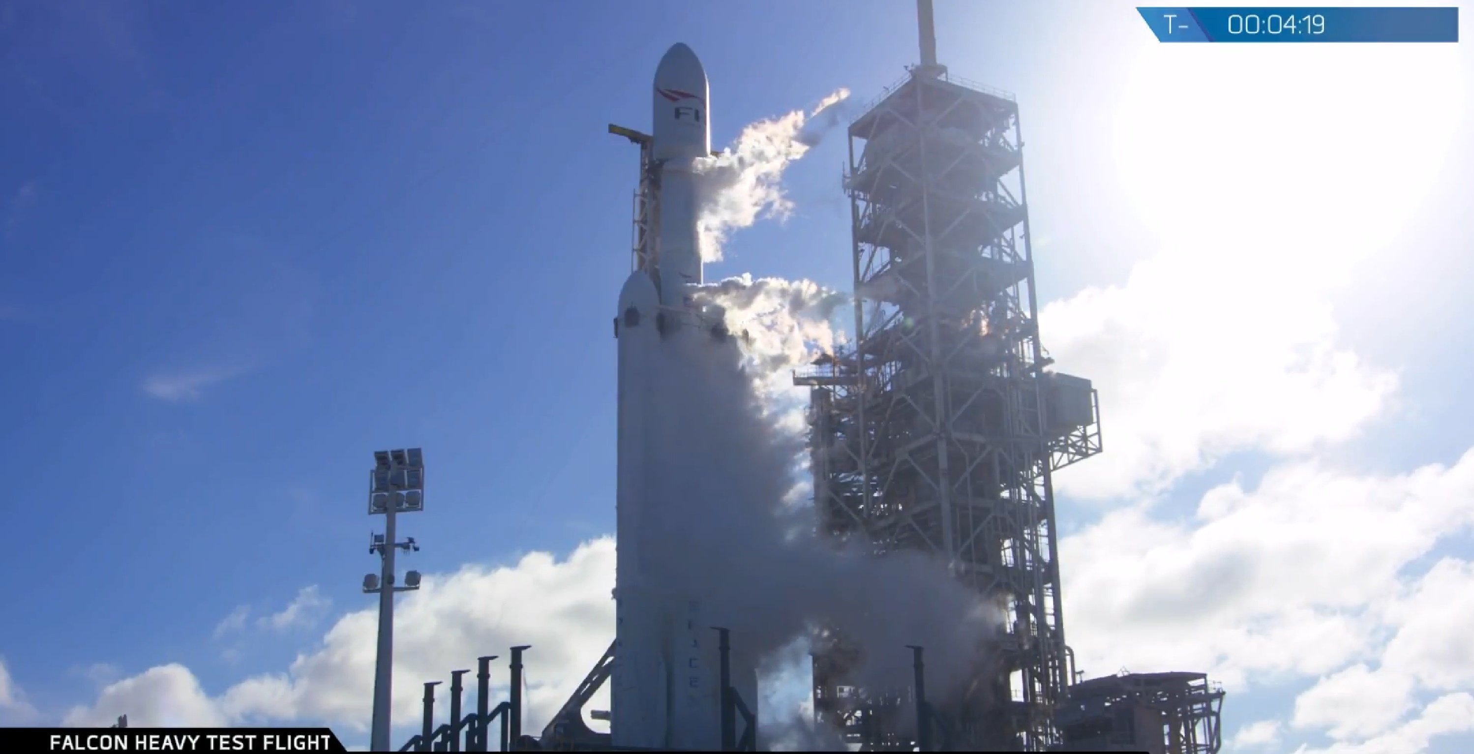 FH on pad (SpaceX)