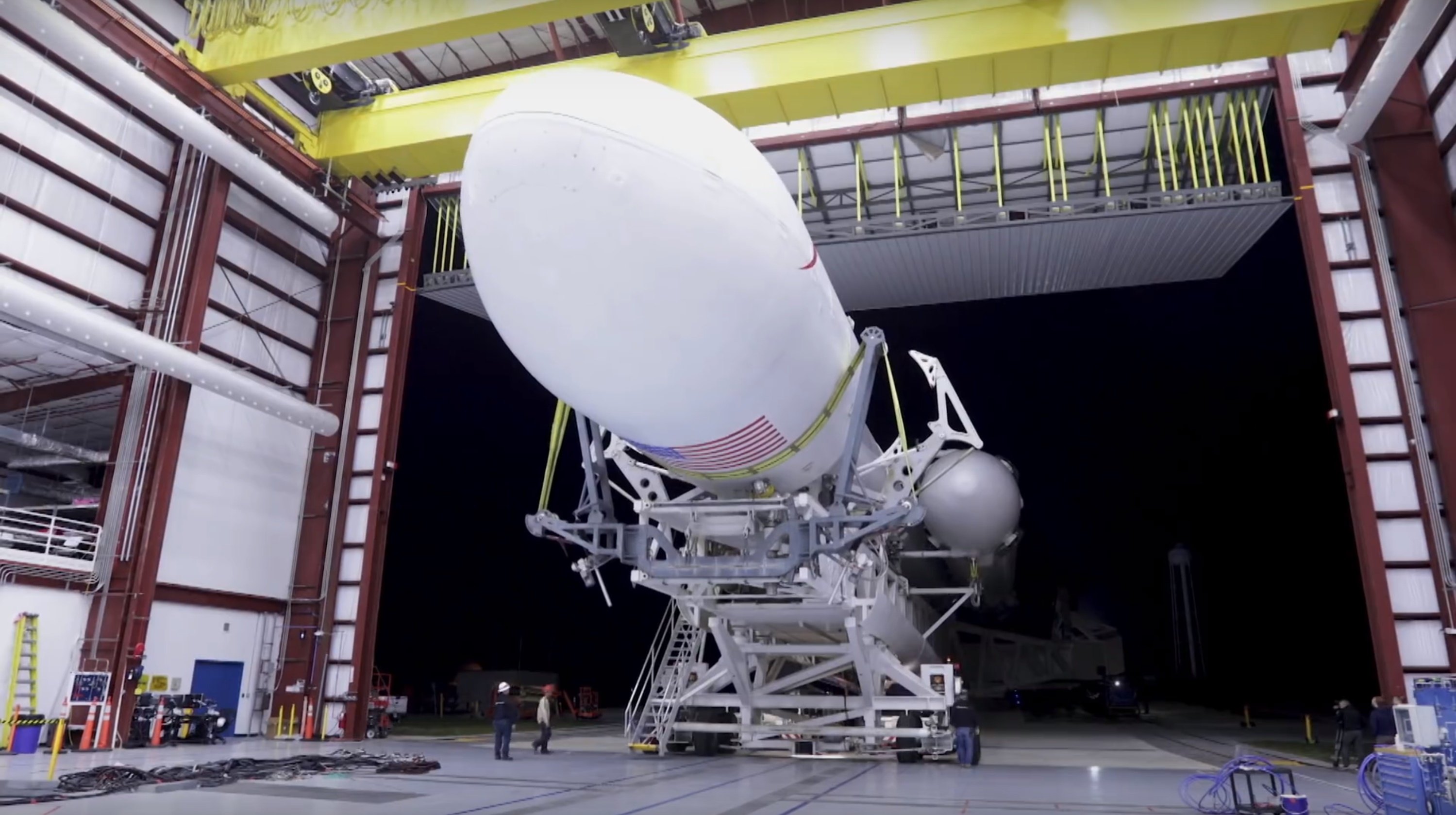 FH rollout 5 (SpaceX)