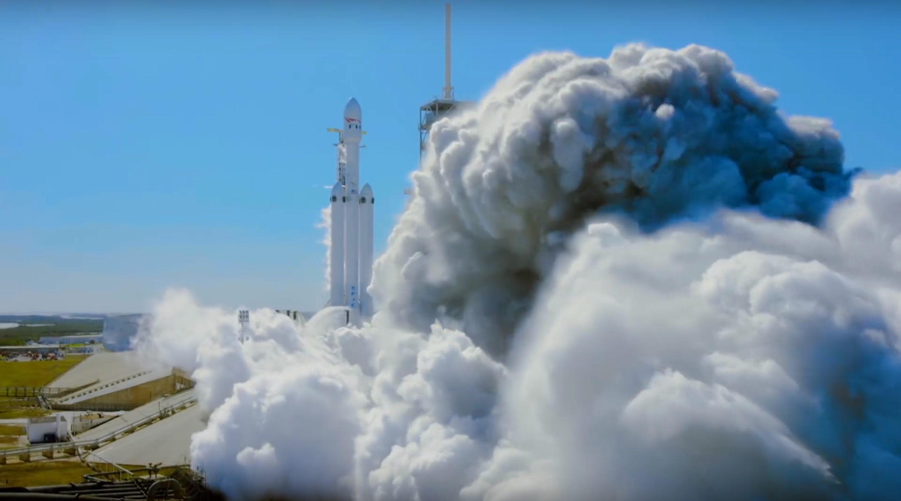 FH static fire (SpaceX)