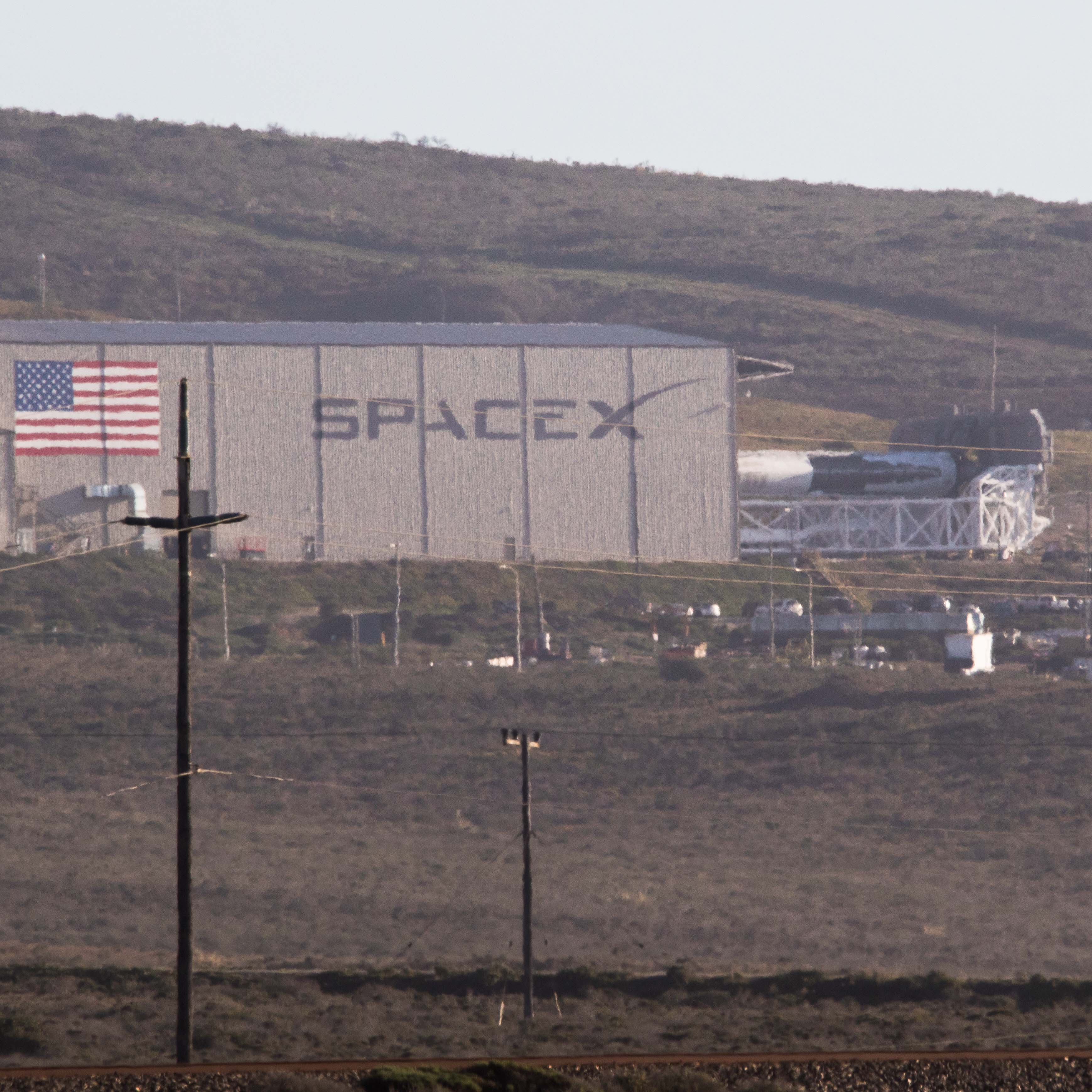 Falcon 9 1038 rollout 021718 (Pauline Acalin)