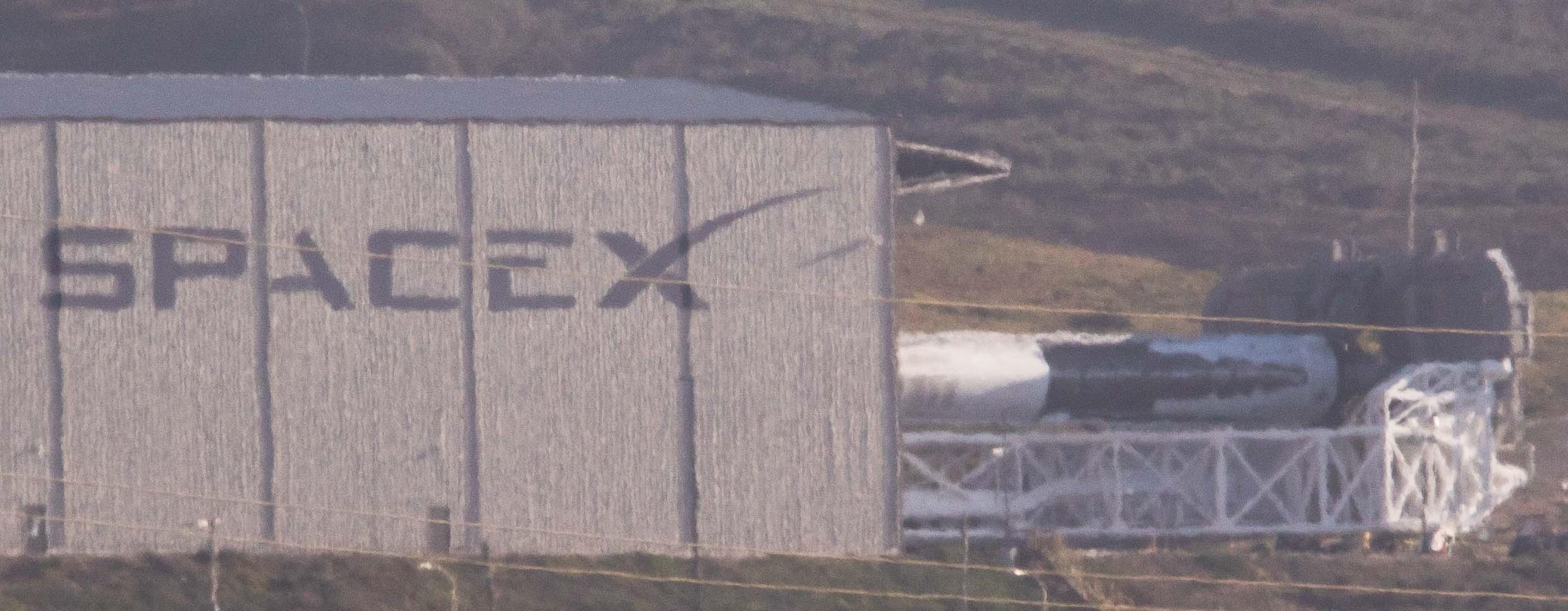 Falcon 9 1038 rollout crop 021718 (Pauline Acalin)