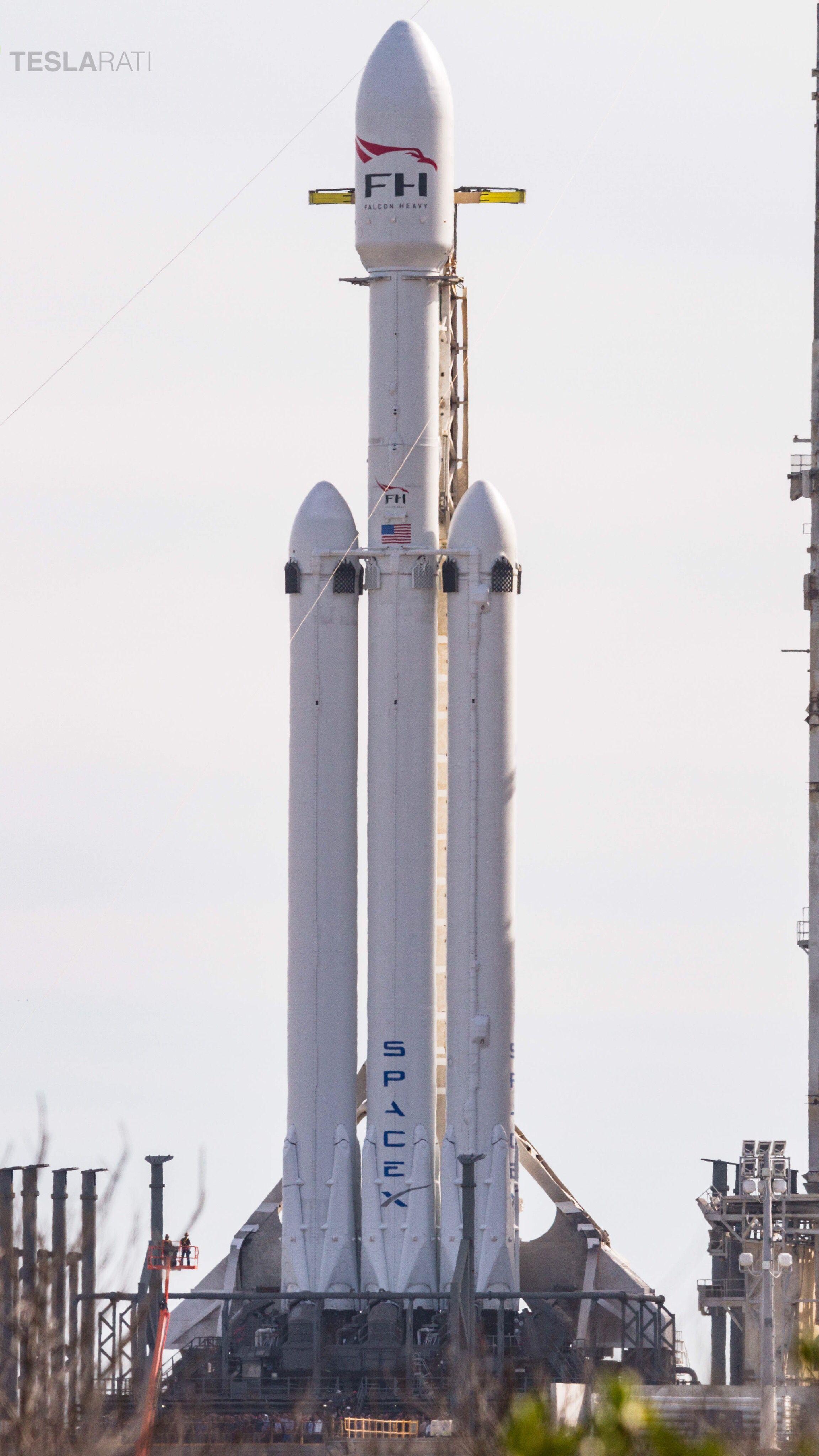 Falcon Heavy 1 (Tom Cross)