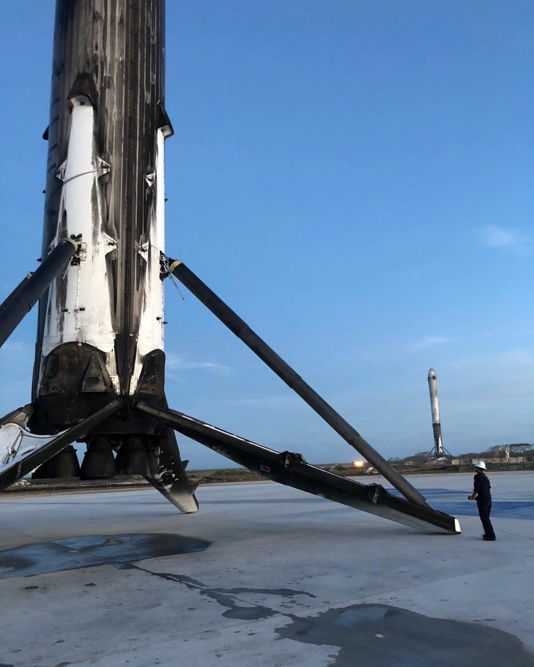 LZ2 with Falcon Heavy boosters (Elon Musk)