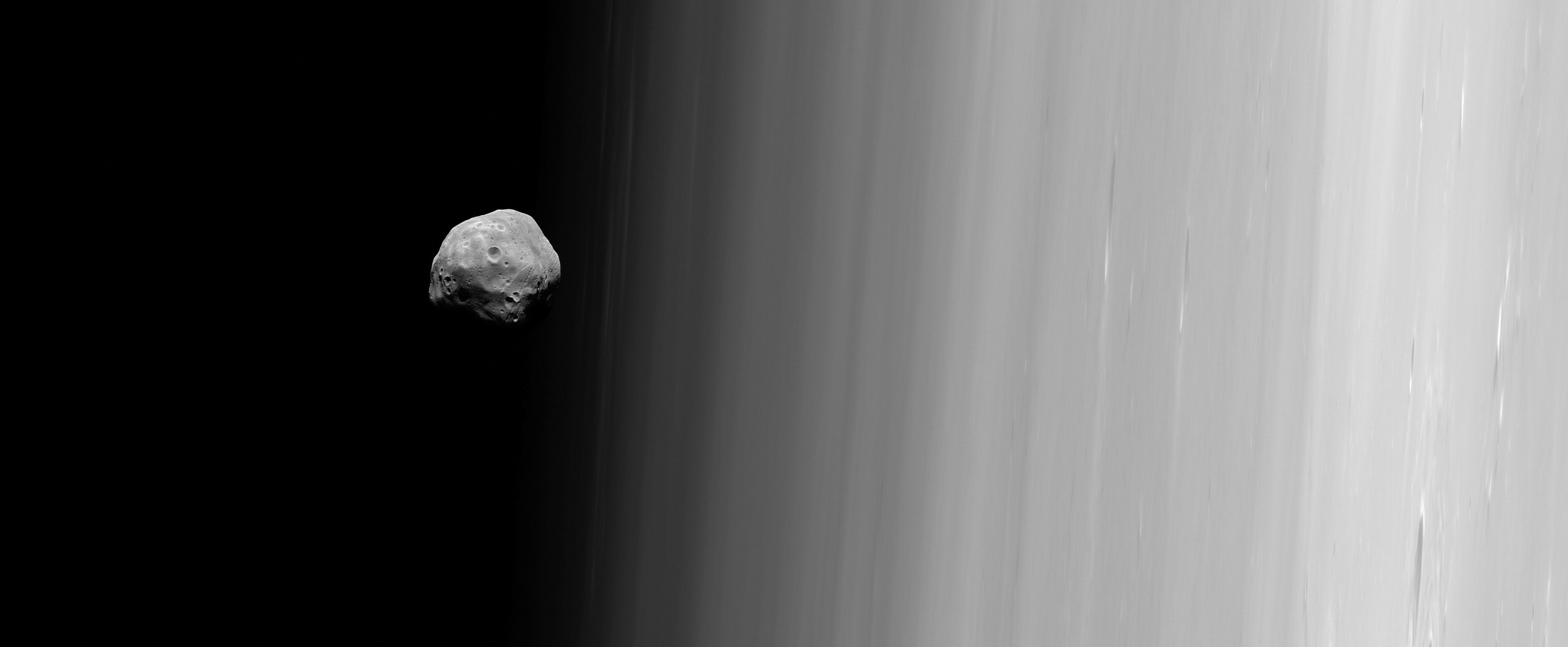 Phobos from Mars Express (ESA)