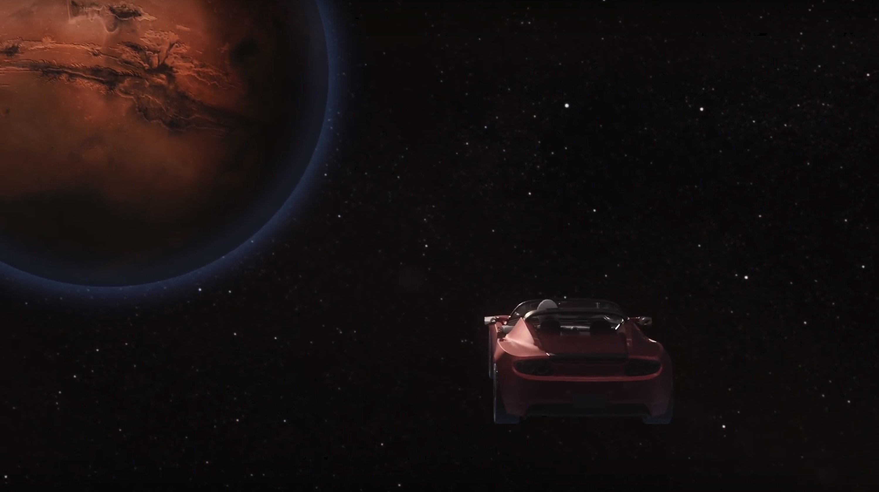 Roadster to Mars (SpaceX)