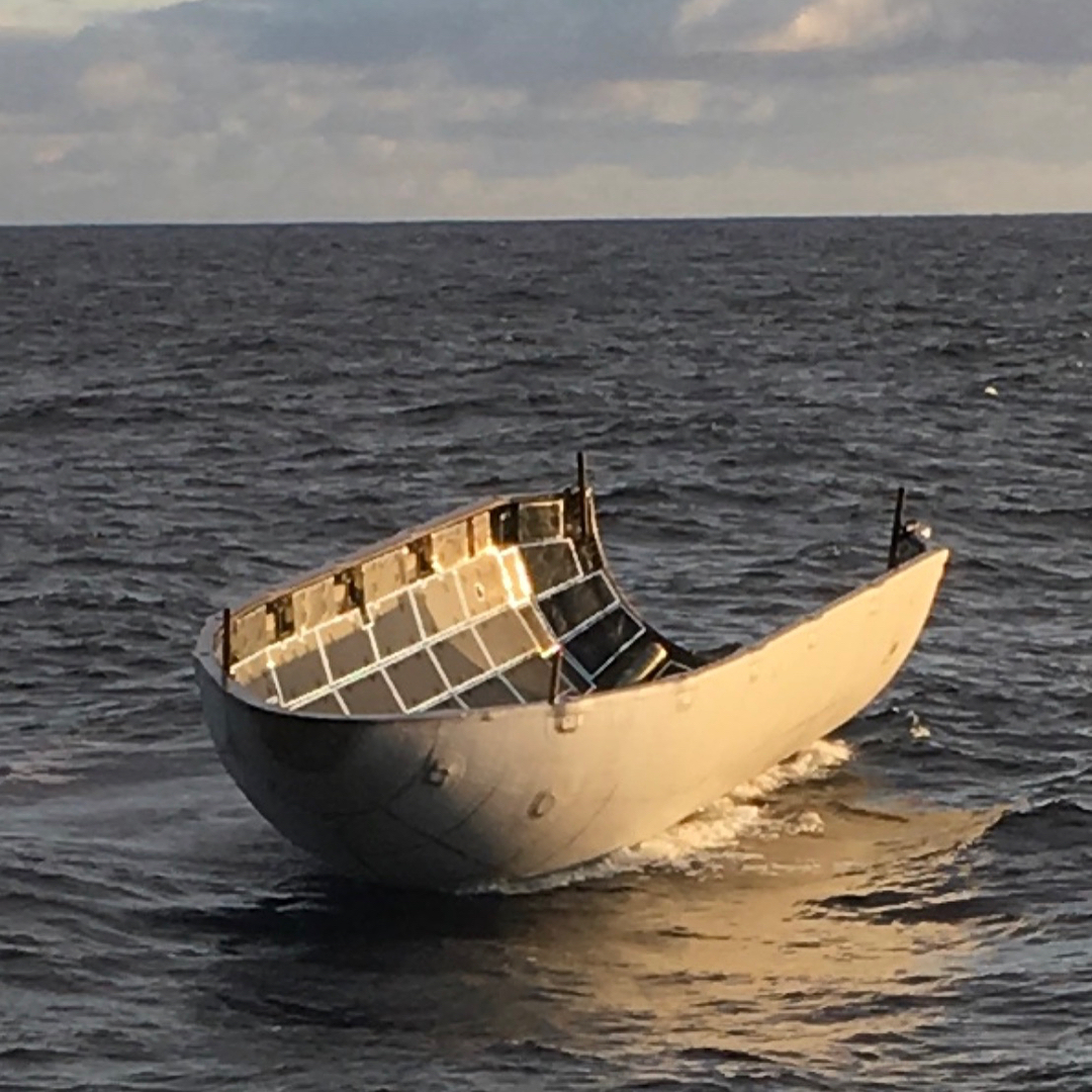 first successful fairing recovery (Elon Musk)