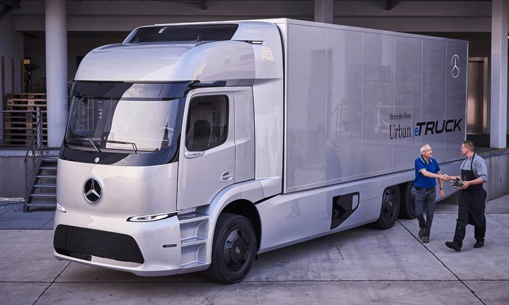Tesla news tips rumors and reviews for Mercedes benz electric truck