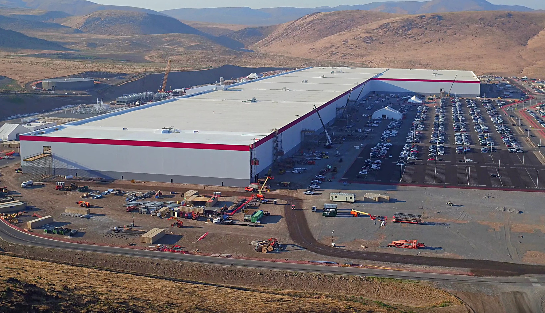 Tesla Gigafactory In Nevada Tops 1 3 Billion In