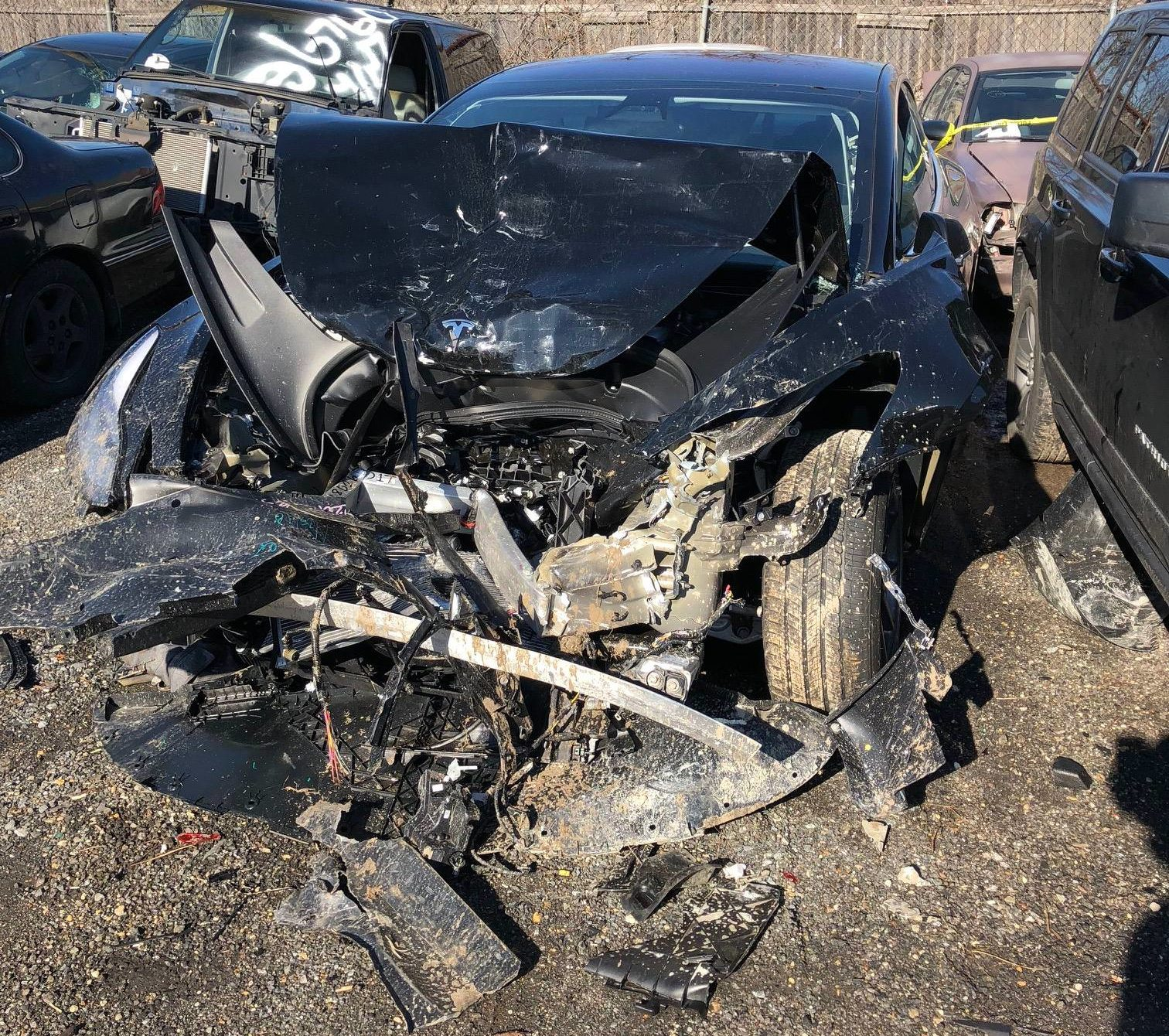 Elon Musk addresses Tesla Model 3 crash with vow to add new safety ...