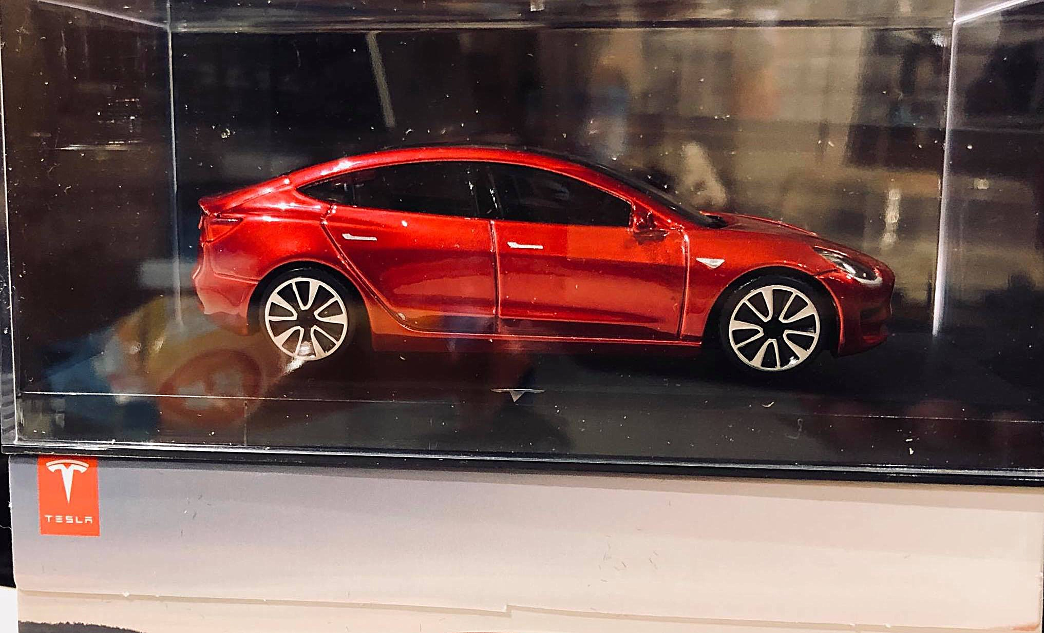 First Look At Tesla S Something Special Diecast Replica To Model 3