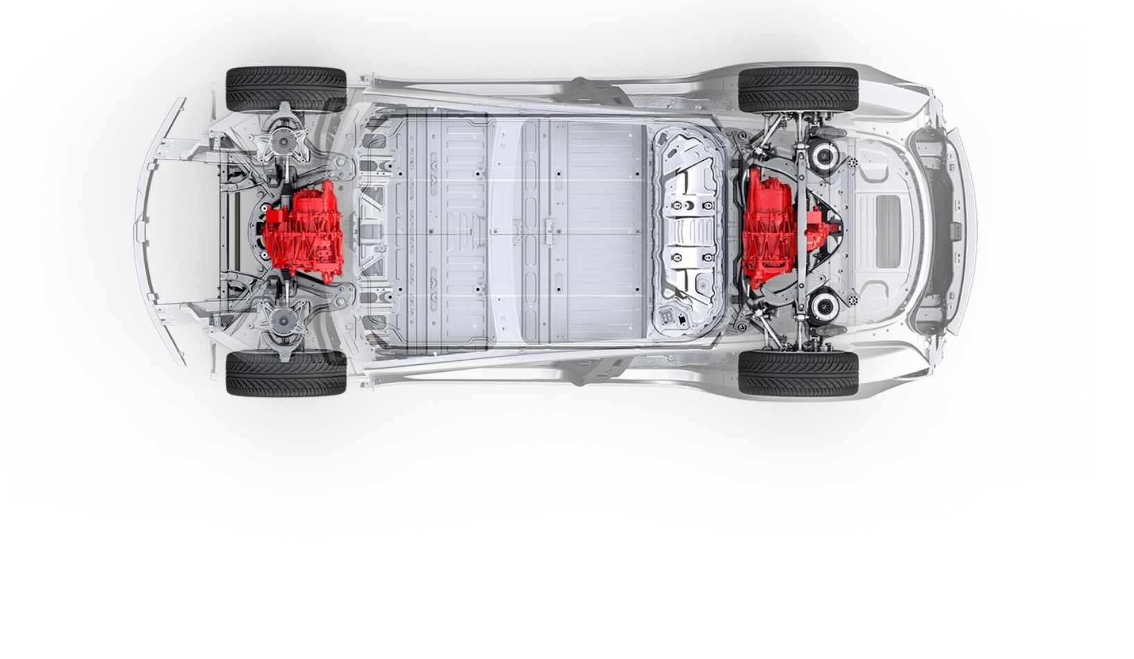tesla model 3 with dual motor awd spotted in san francisco Tesla Gun