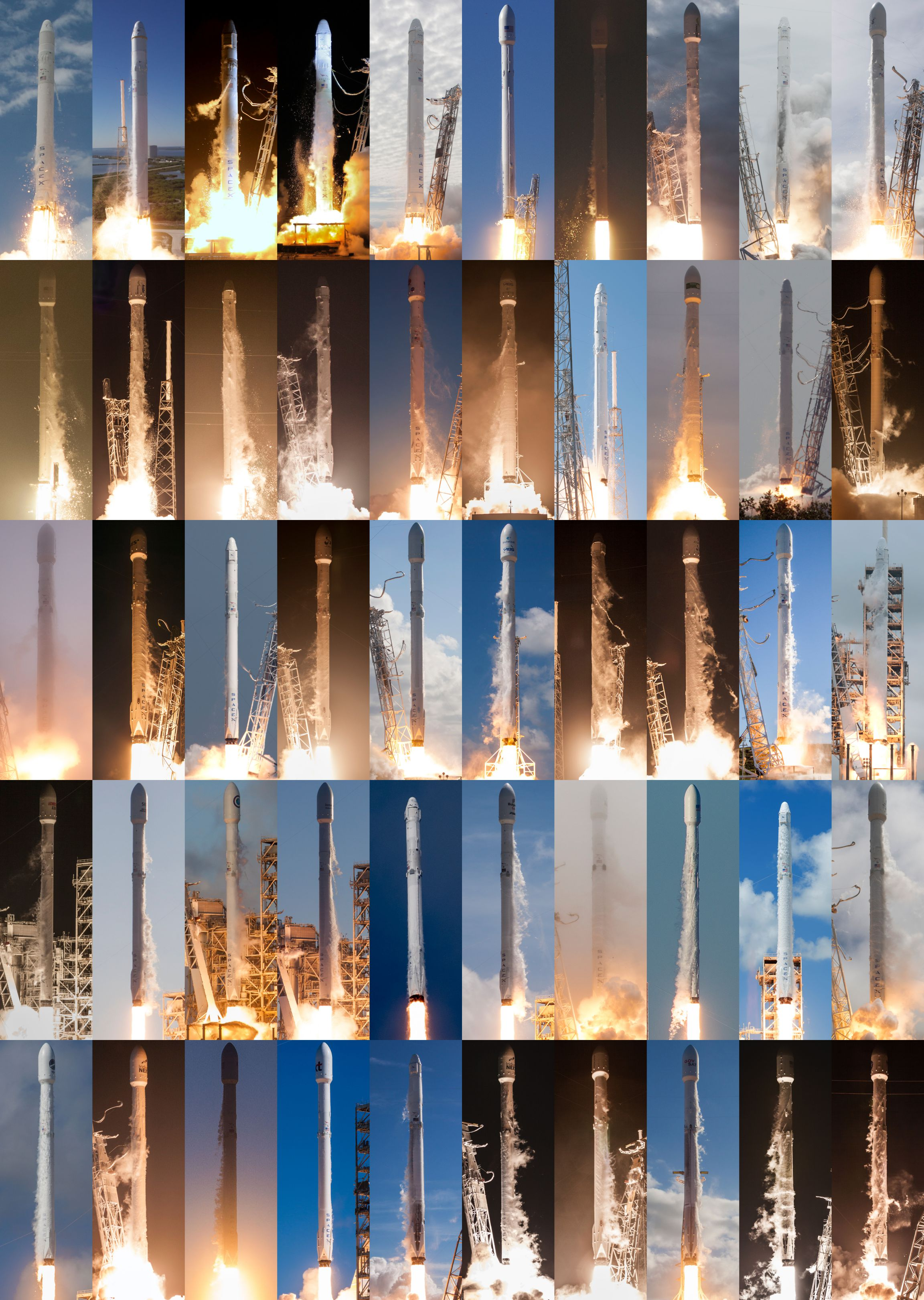 50 launches of Falcon 9 (ethan829)(c)
